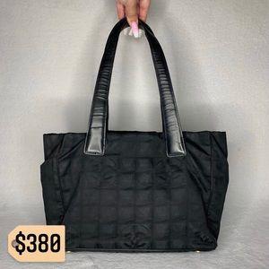 🔥SALE🔥 Chanel RARE Travel Line Tote Shoulder Bag